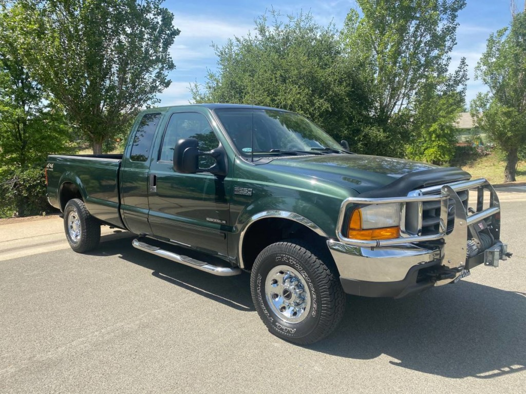 2002 Ford F-250 SuperDuty turbodiesel powerstroke for sale 1