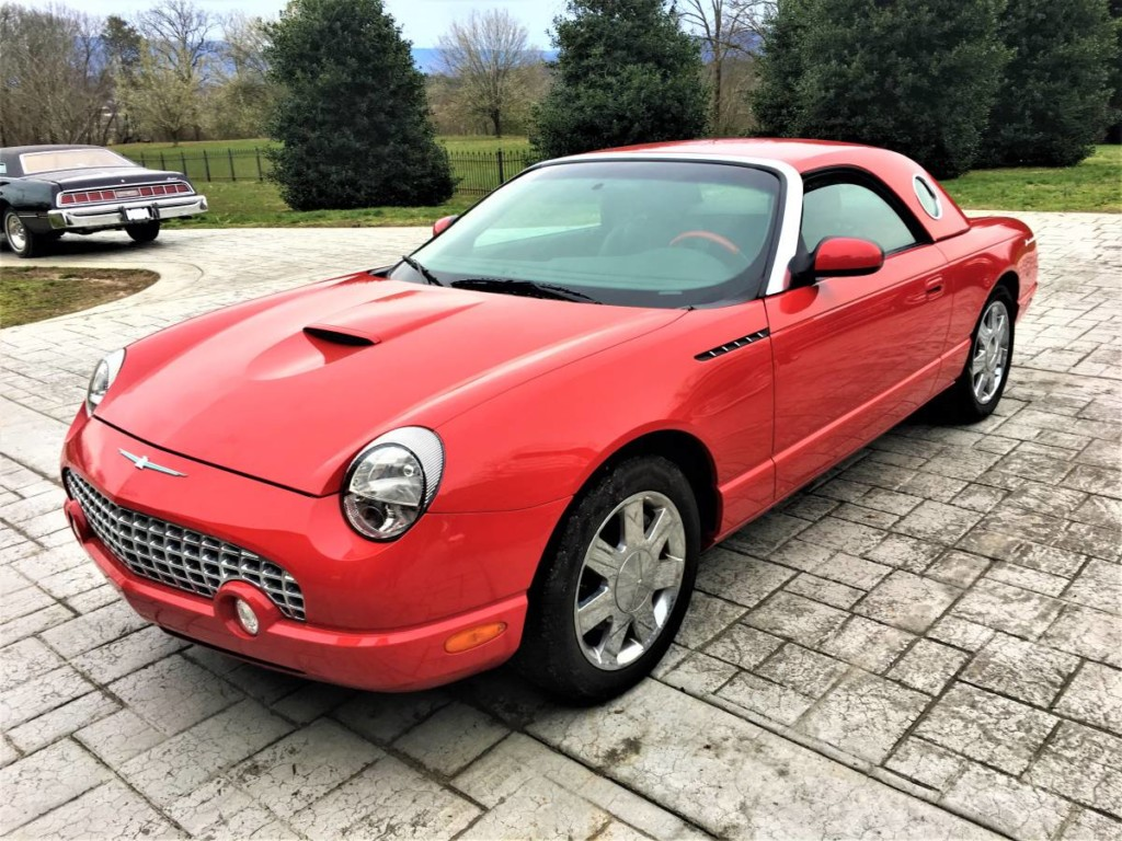 2002 Ford thunderbird for sale 1
