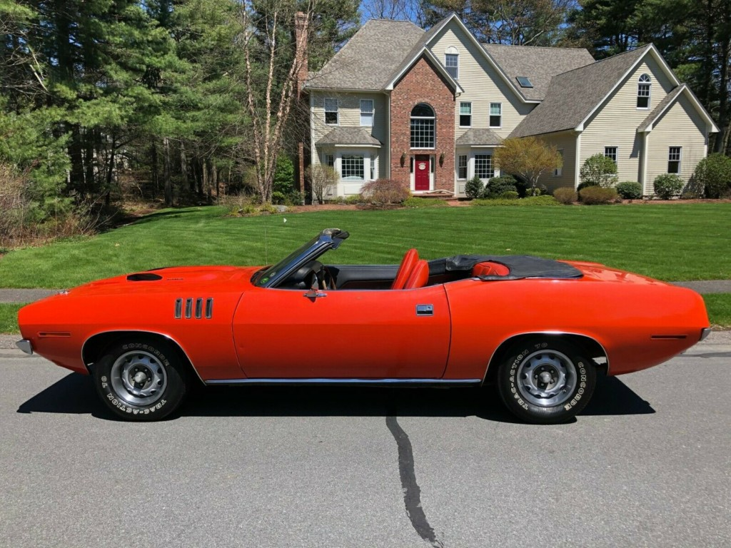 1971 plymouth cuda baracuda convertible for sale 5