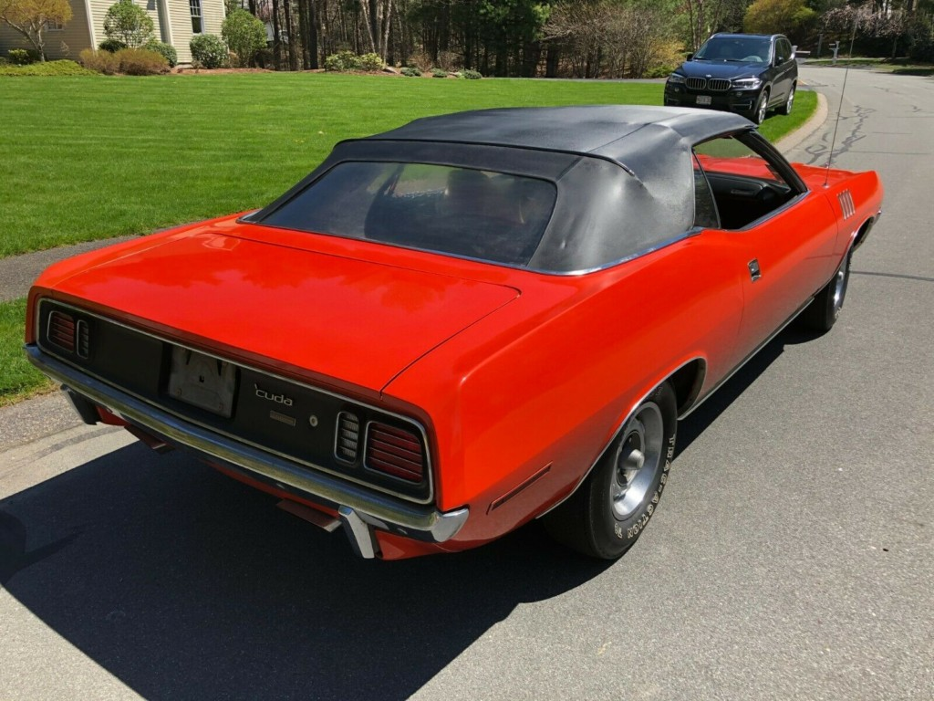 1971 plymouth cuda baracuda convertible for sale 4