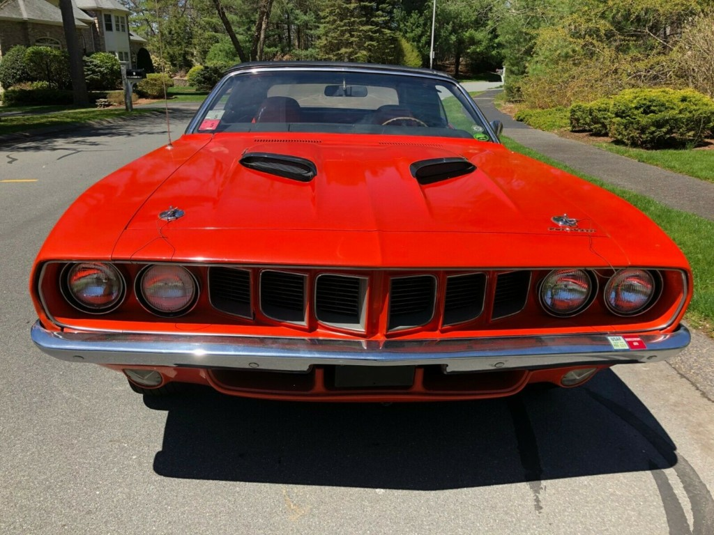 1971 plymouth cuda baracuda convertible for sale 3