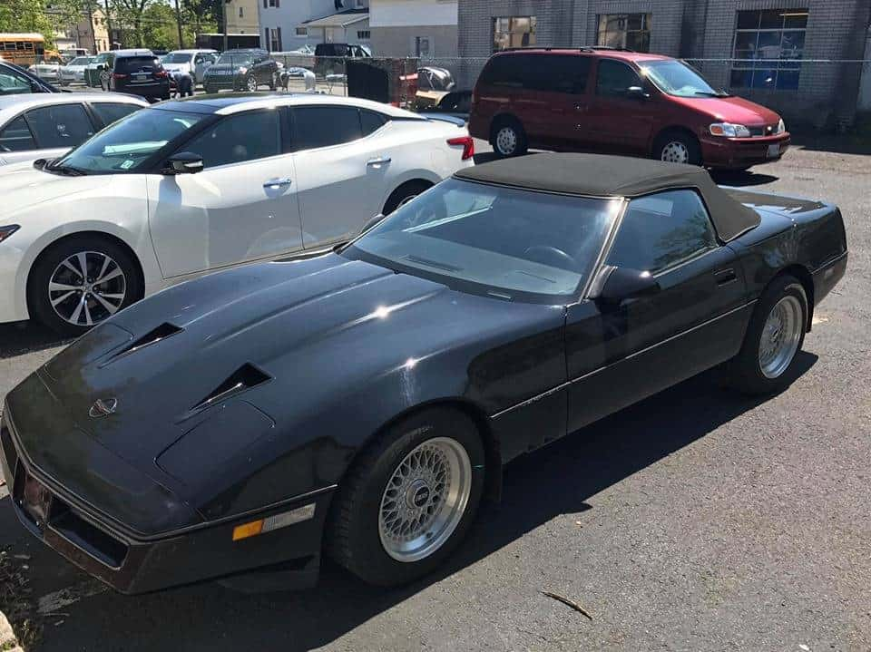 1987 Callaway Twin Turbo Corvette Convertible for sale 2