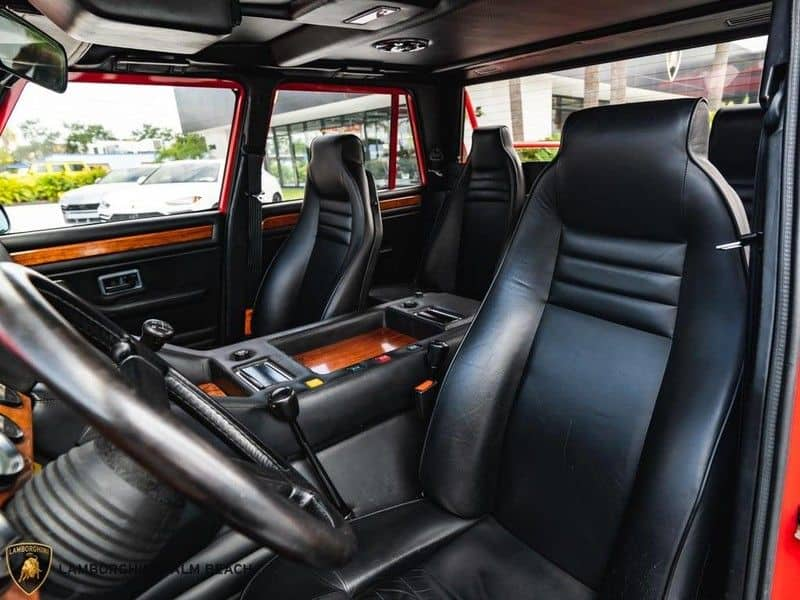 1990 lamborghini lm002 for sale 8