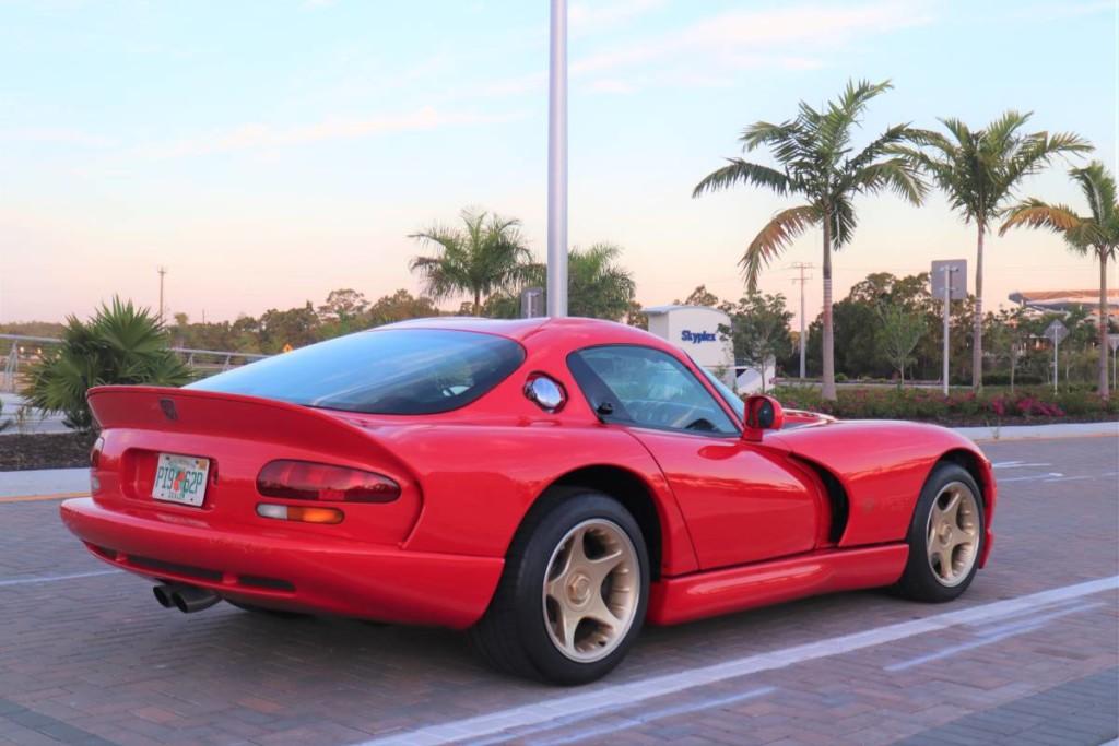1997 Dodge viper sparkle gold for sale