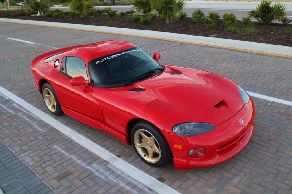 1997 Dodge viper sparkle gold for sale 1