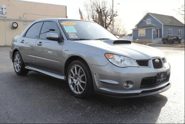 2007 subaru wrx sti limited for sale