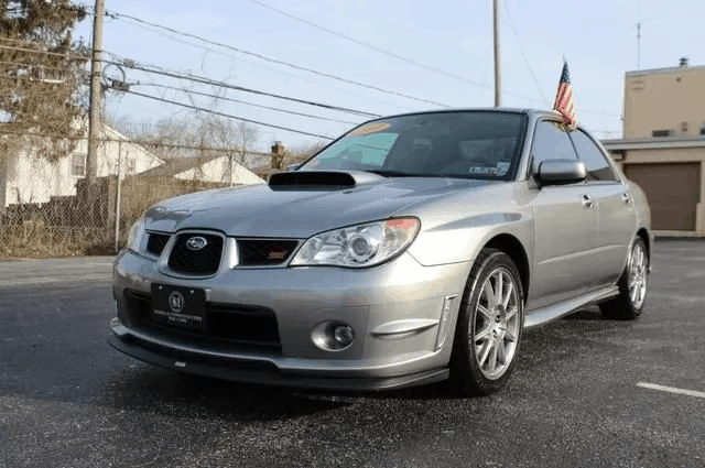 2007 subaru wrx sti limited for sale 1