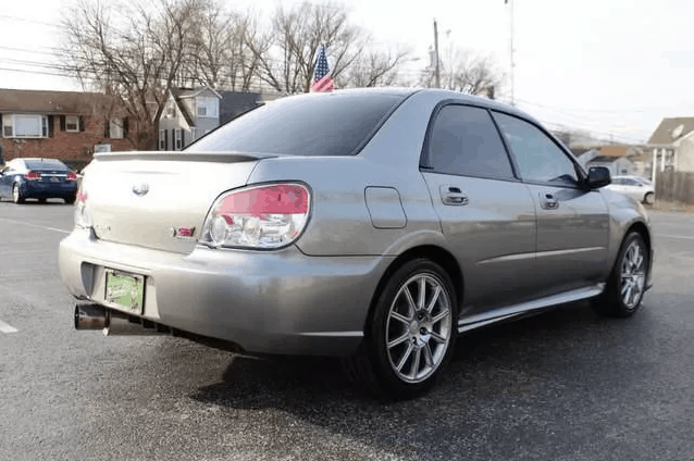 2007 subaru wrx sti limited for sale 3