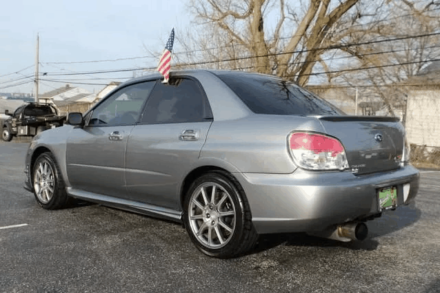 2007 subaru wrx sti limited for sale 4