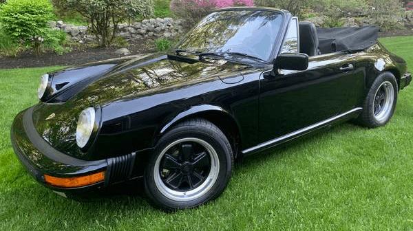 1987 Porsche 911 Cabriolet for sale featured