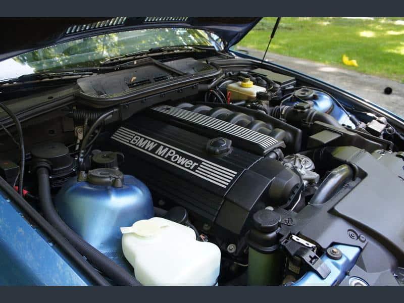 1996 bmw m3 convertible estoril blue for sale 5