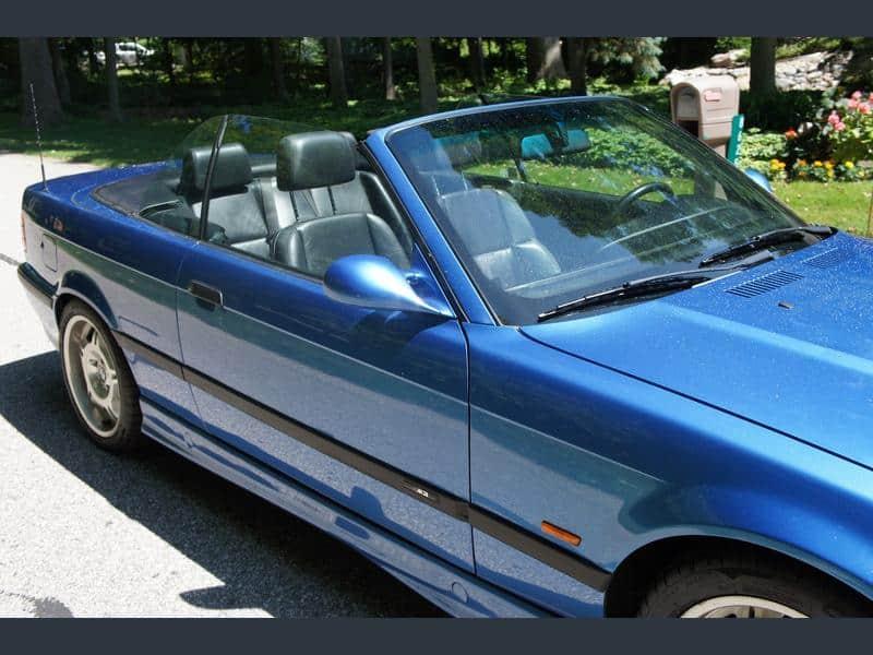 1996 bmw m3 convertible estoril blue for sale 2