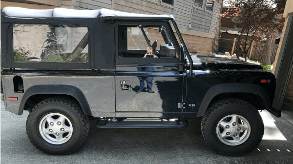 1997 land rover defender 90 NAS for sale featured