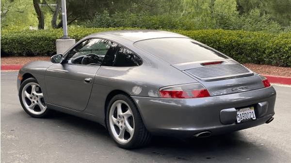 2002 Porsche 911 996 6spd for sale featured