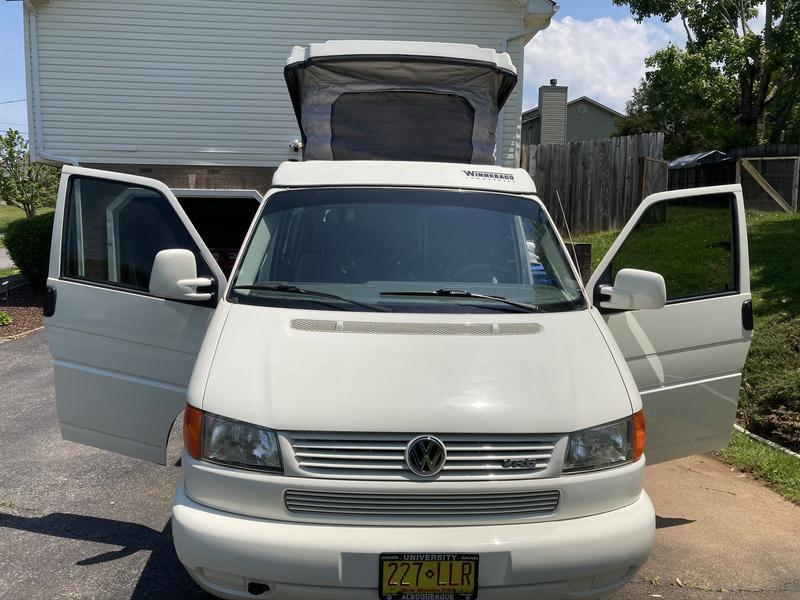1999 volkswagen eurovan camper for sale 9